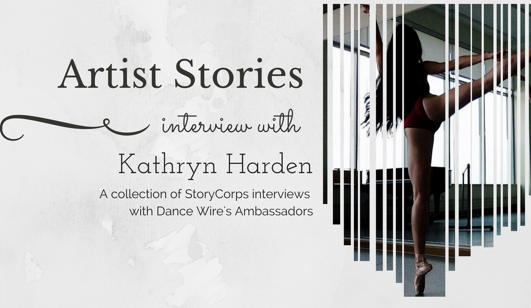 2018 Artist Stories – Kathryn Harden