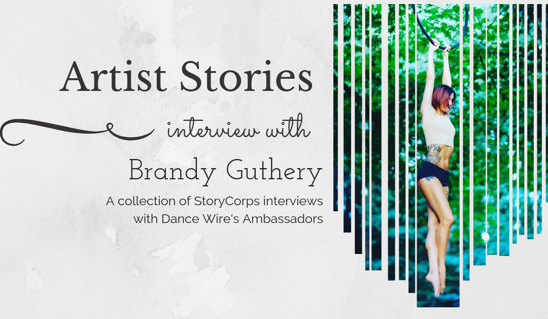 2019 Artist Stories with Brandy Guthery