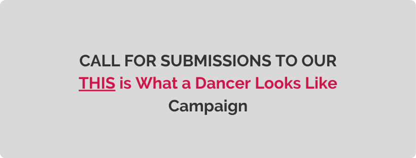 Call for Submissions – THIS is What a Dancer Looks Like