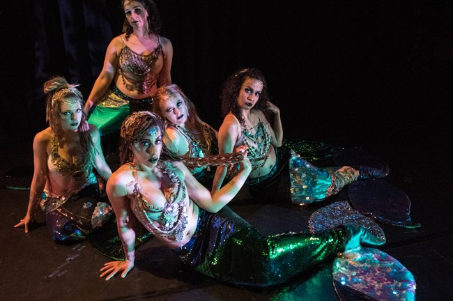 Allegro Dance Company dancer mermaids